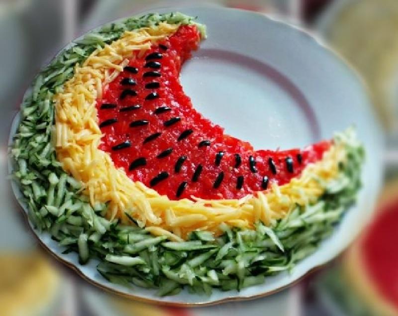 Превратите простой салат в шедевр - подайте его в виде фруктов