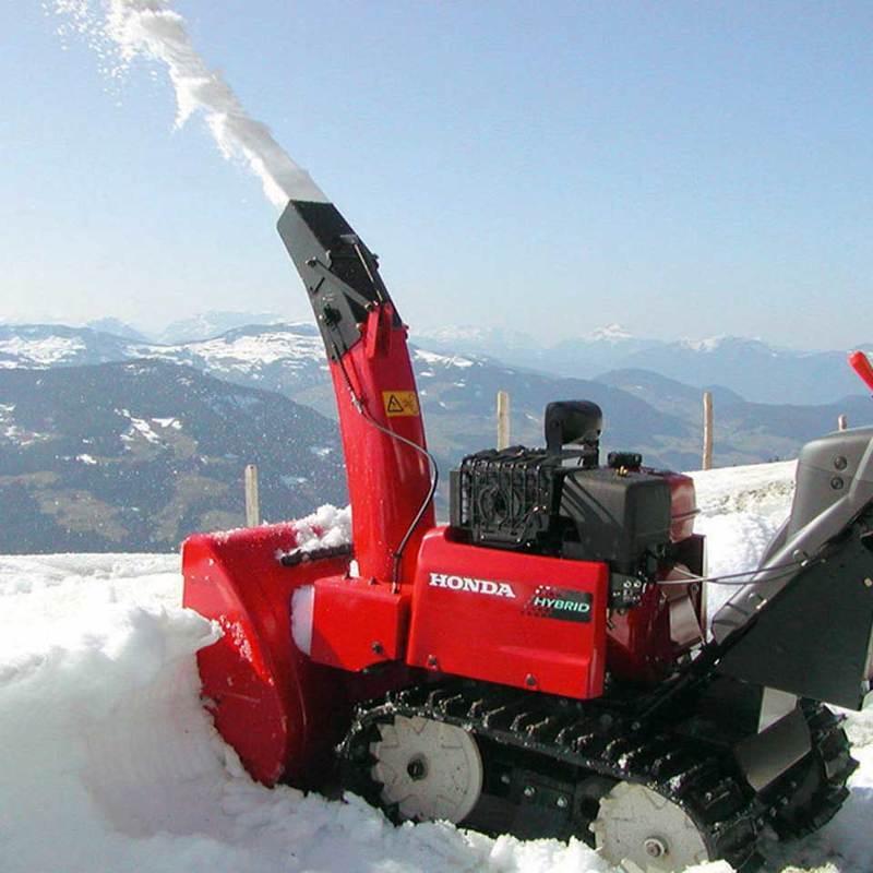 Снегоуборочная машина McCulloch