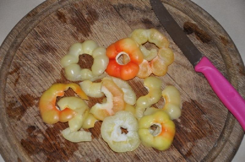 Часть перца вокруг плодоножки содержит больше всего витамина С