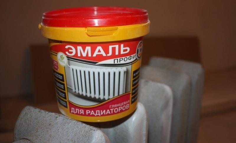 Специальная алкидная эмаль ВД-АК-1179 для радиаторов