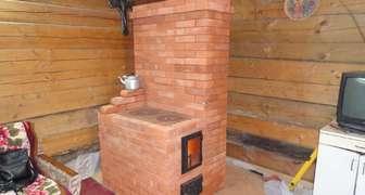 Печка кирпичная в гараж своими руками фото 616