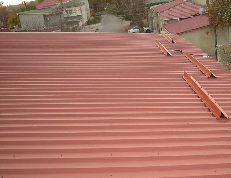 Снегозадержатели на крышу из шифера своими руками фото 35