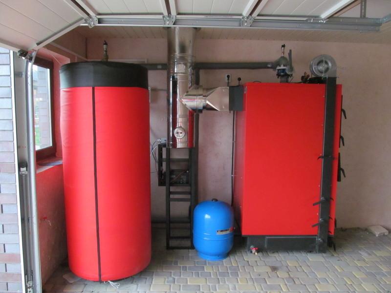 Универсальный котел для отопления частного дома комбинированный