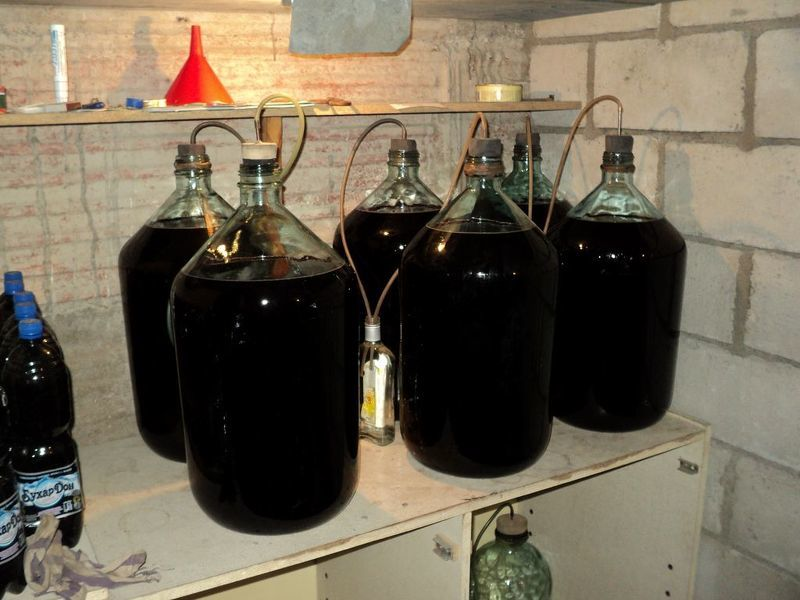 как приготовить вино из варенье