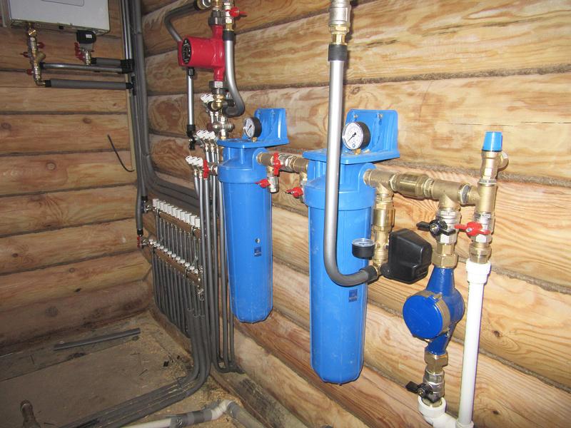 Разводка воды в частном доме