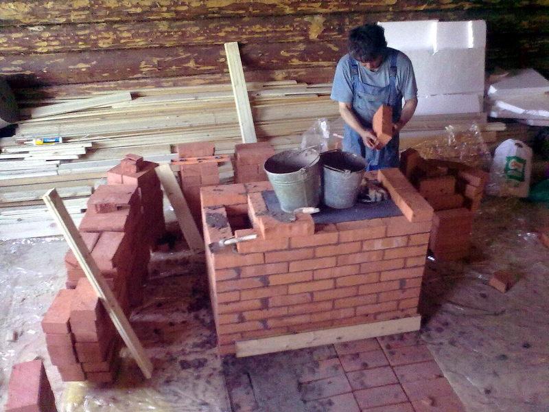 Выкладываем печь для дачного дома своими руками