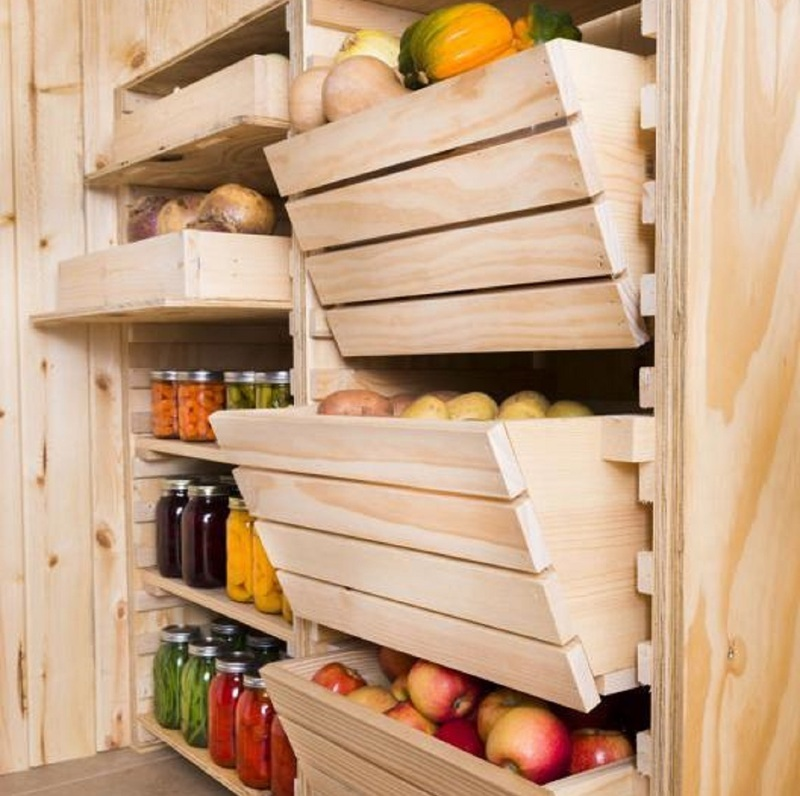 Ящики для хранения фруктов и овощей