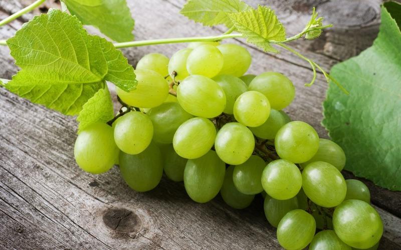 Зеленый виноград польза и вред